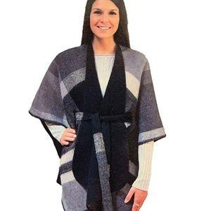 Emanuel Geraldo Women's Reversible Belted Wrap Dar
